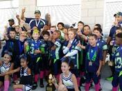 Rio Rancho Rams 2014 YAFL Rookie Super Bowl Champions