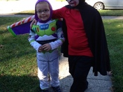 buzz lightyear and a vampire 2014 Halloween