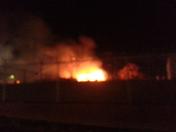 House fire Hickory North Carolina