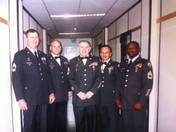 NCOs  of 113th Military Police Co Brandon,Ms