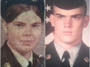 two of my HEROS.  my mother Rose Combs of Fayetteville and my brother Clint Comb