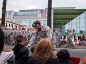 Veteran's Day Parade in Downtown Fairfield