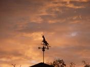 Red sky at morning, sailor's take warning