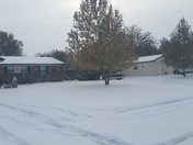 Snowfall in Guymon