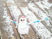 Snowman in Rudy