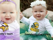 Packer vs Viking fan