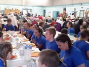 Thanksgiving dinner at littleton n.h. senior center