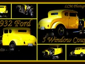 Bright Yellow Hotrod