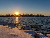 Sunset on Little Lake