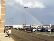 Beautiful Rainbow Over Lowes In Washington