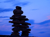 The Lonely Inukshuk