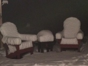 10 inches of snow in Danbury NH