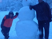 First snow giant of the year