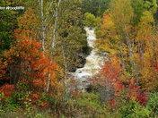 Duchesnay Falls in autumn