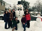 Thanksgiving snowman