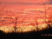 Sunset at Starmount High School