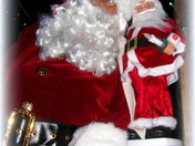 Santa was out and about on Thanksgiving night