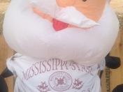 Santa's a State Fan!