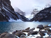 ~Winter in the Rockies~ Lake Louise, Banff National Park, Alberta