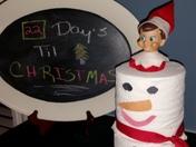 """Do you wanna build a snowman?"" Our elf Punkin' Punkin' sure did!"