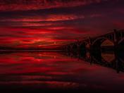 Red Sky over Susquehanna