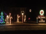 Animated Light Display in Ankeny, IA