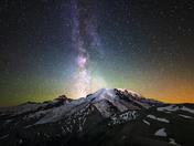 Night Skies Winner - Mount Rainier National Park