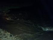 Linda creek overflowed the banks at champion oaks dr in Roseville