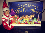 Our Elf Cooper Brought My Boys A Special Book From Our Home State! HOW COOL! :)