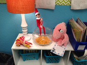 Miss Reed's Elf on the Shelf Day 3: Going Fishing