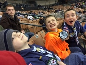 NH Pack 68 from Laconia at the game!  mo
