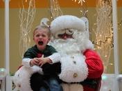 First time meeting Santa