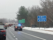 Accident before exit 6 on 293 South