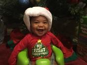 Baby Jordan's 1st Christmas!