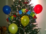 sons bday/ holiday tree