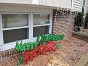 Christmas Lights Vandalized in Clive