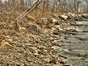 Eroding Shoreline of Lake Huron