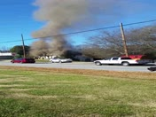 Fire in Central, Sc