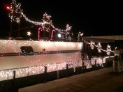 20th annual Floating Lights Parade at Elephant Butte Lake
