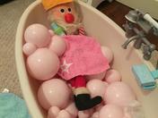 Elf on a shelf- Bath time