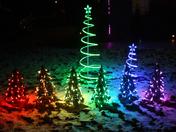 Lights On Ice Crystal