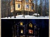 Christmas Treehouse in Stoneham, ME