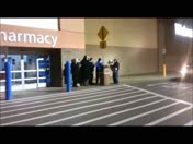 Salvation Army Band at Liberty Walmart