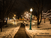 Lights at Shorey Park, Bridgton, Maine