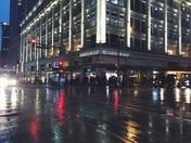 Vancouver in Rain