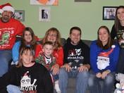Ugly sweater Christmas celebration!