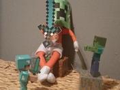 Even Elfie is gettung unto mine craft