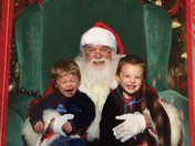 happy/sad ??  Santa pics gone wrong