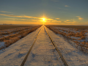 Sunset Tracks