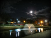 Full Moon Over Greer City Park